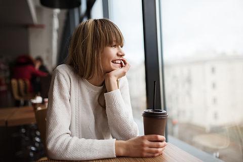 Blije koffie
