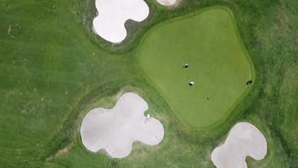 Aerial View of Golf Club