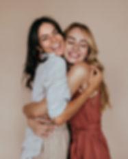 Freunde Hugging