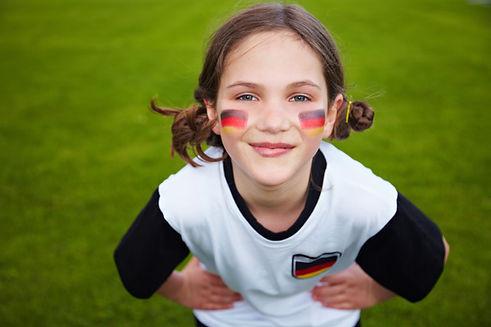 Aficionado deportivo alemán