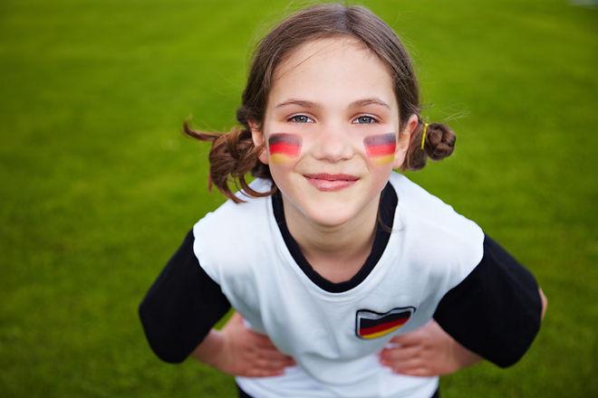 Немецкий спортивный болельщик