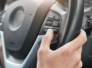 Controles do volante