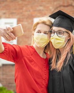Covid Selfie Graduation