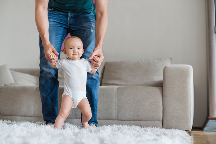 Baby Learning to Walk
