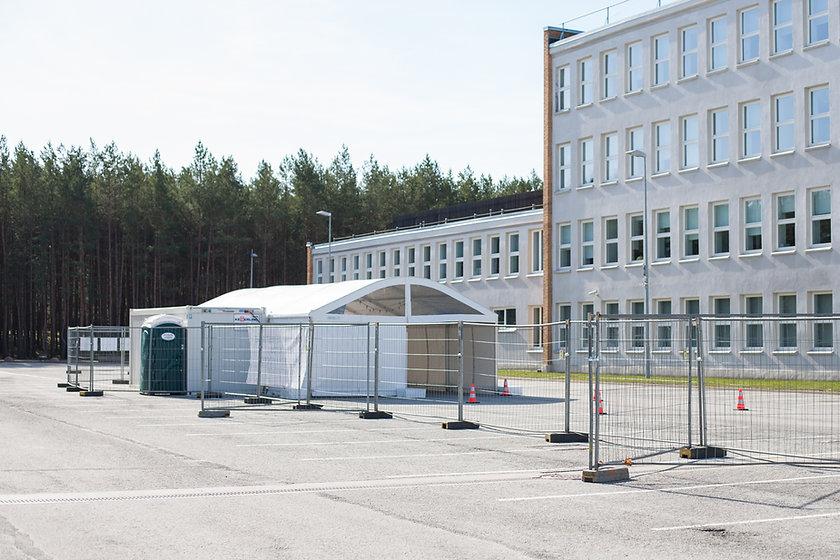 Corona Testing Facility