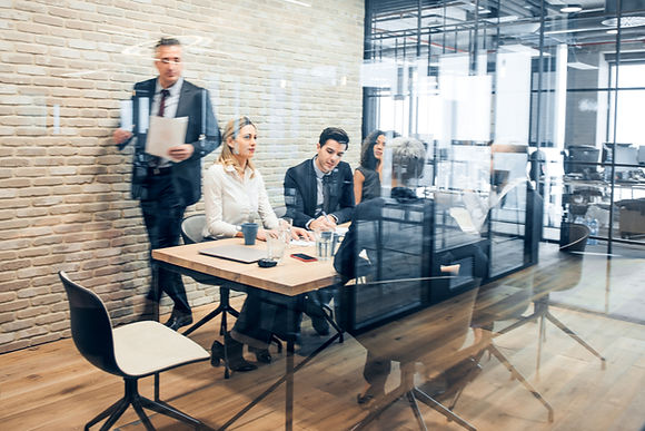Reunión de equipo de trabajo