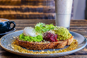 Avocado and Beetroot Toast