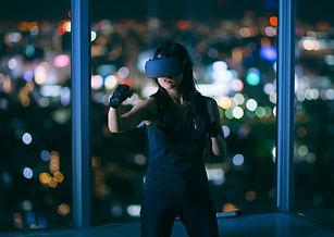 VR格闘ゲーム