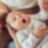 眠い赤ちゃん