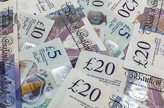 British Pound Notes