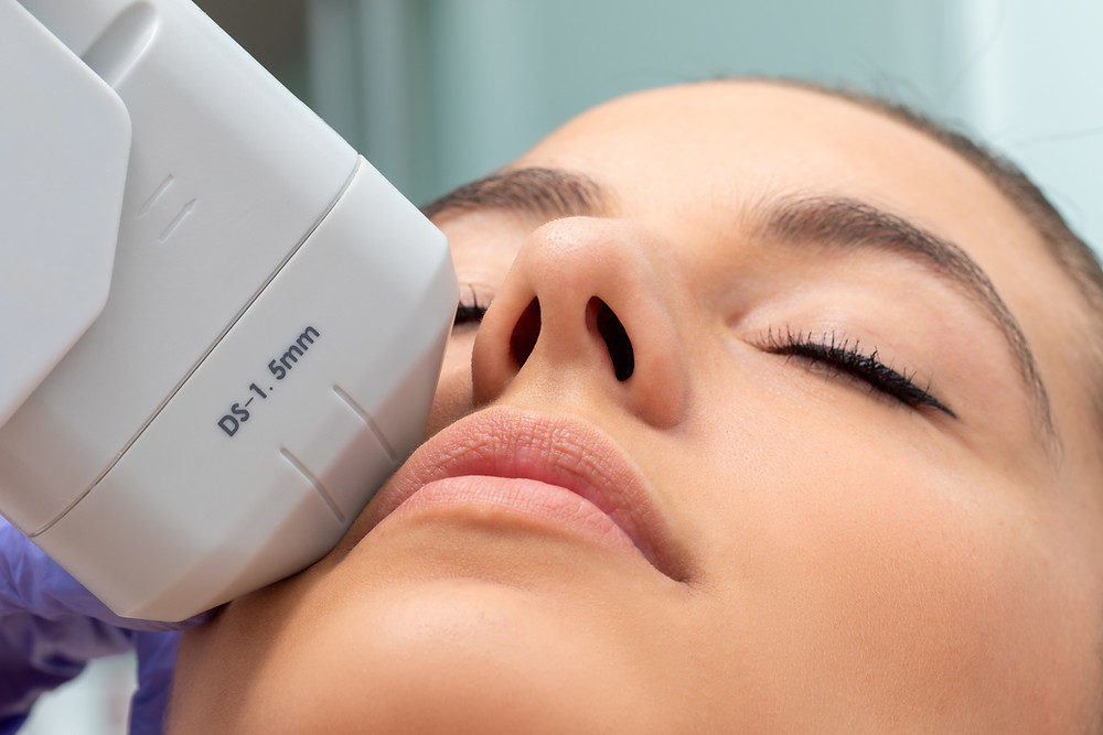 Microcurrent skin device