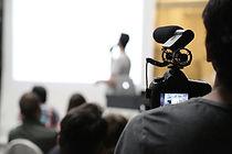 Filmando uma apresentação
