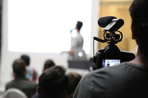 Een presentatie filmen