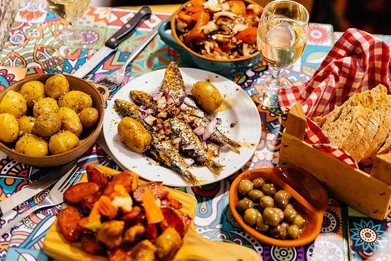 Festliche Mahlzeit