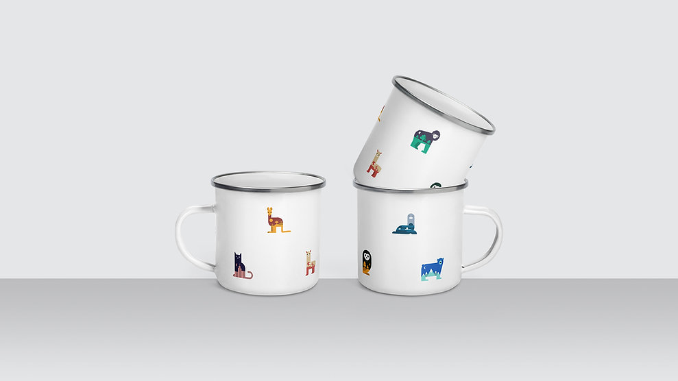 Enamel Cups