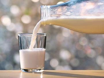 Ein Glas Milch