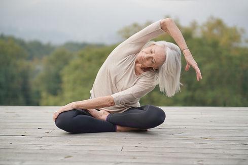 Kvinde Stretching