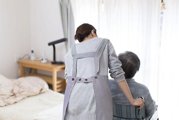 Caregiver with Patient