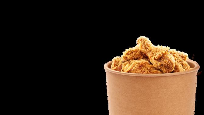 Fried Chicken GF, EF and EF by AllergyFreeChef/Me