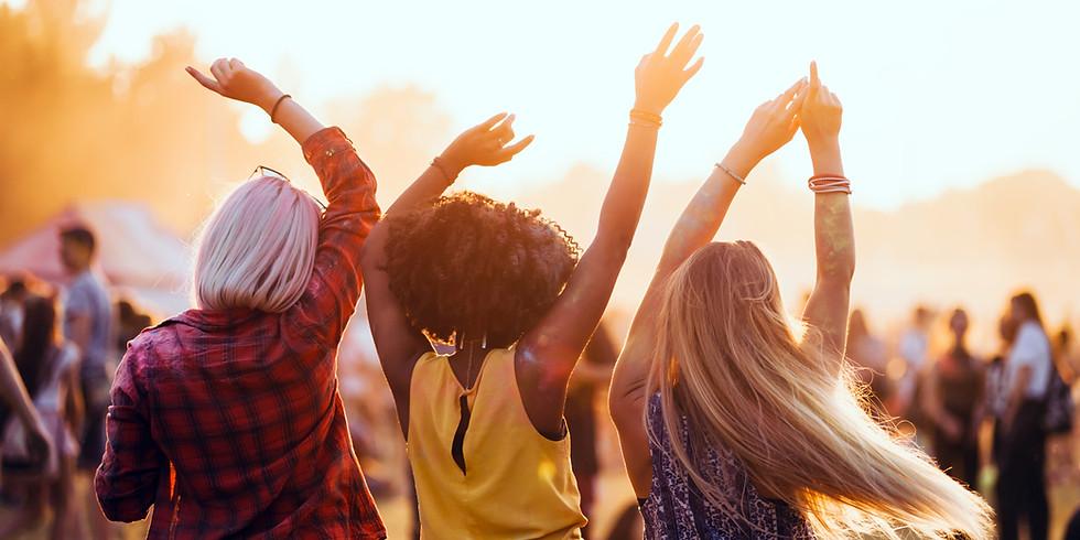 """Feier das Jahr 2020 und wachse über Dich hinaus - Kick Off """"The Sound of Sisterhood"""""""