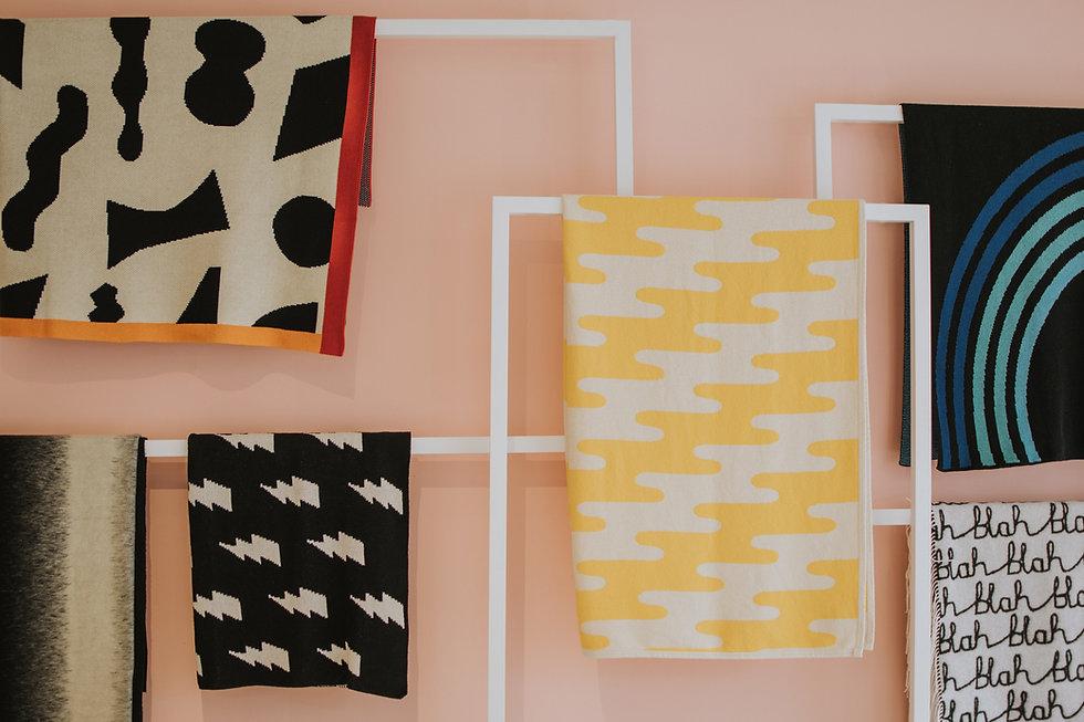 Handtücher hängen