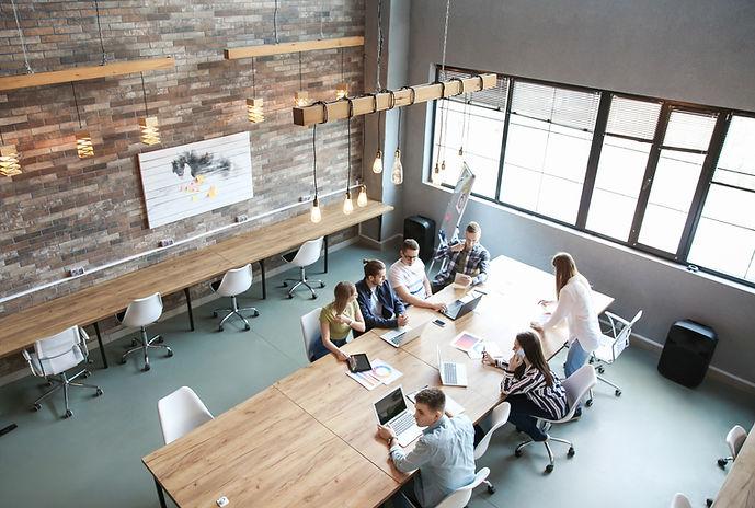 Espace de travail ouvert