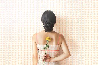 虛線的連衣裙壁紙