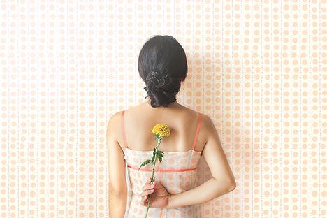 Dotted Dress Wallpaper