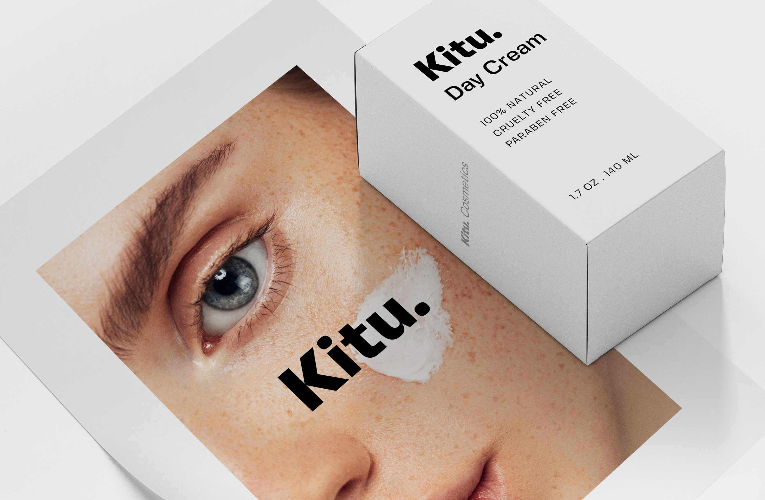 Kitu Cream Skincare Brand Identity - Packaging Design - Advertising