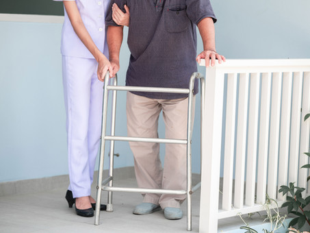 Falls in the Elderly Can Cause Serious Injury