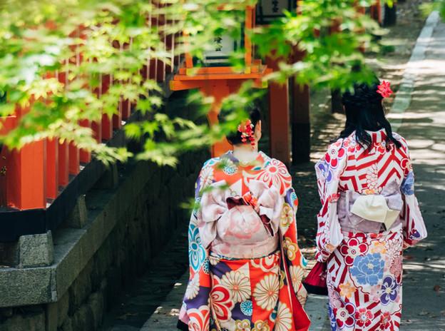 Kimonos del Santuario