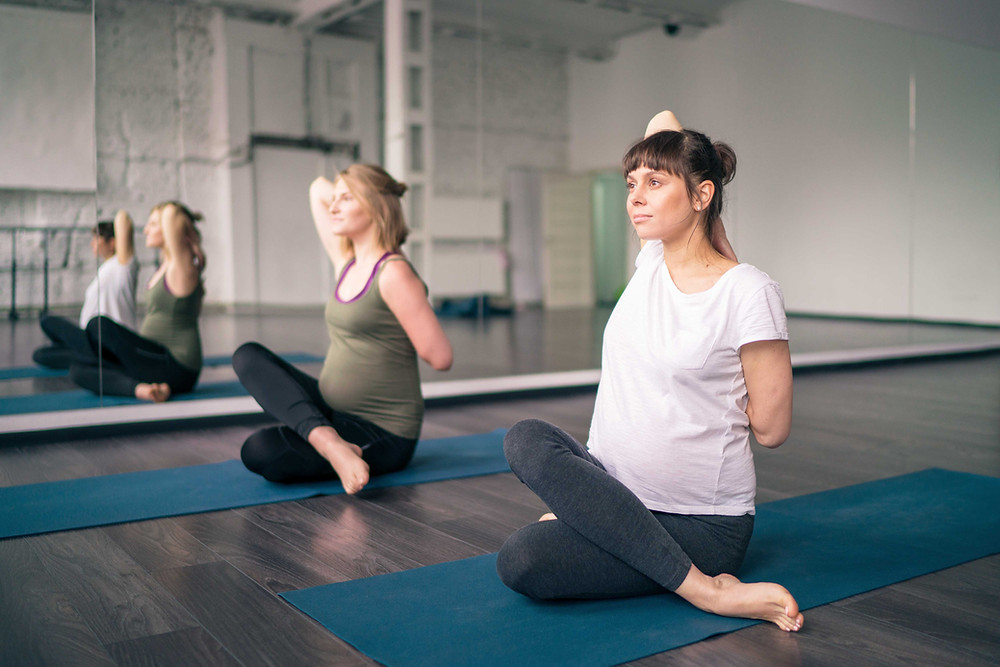 pregnancy activity yoga exercise