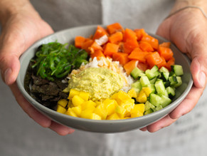 Detox vegetable Poke