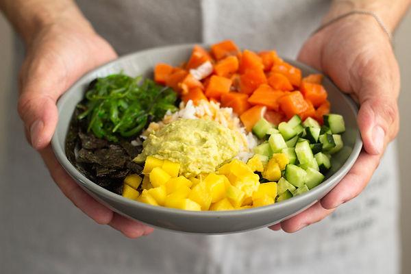 Poke de verduras
