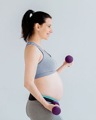 妊娠中の女性のワークアウト
