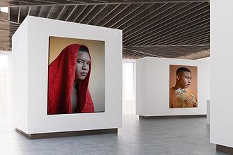 Exposición de retratos