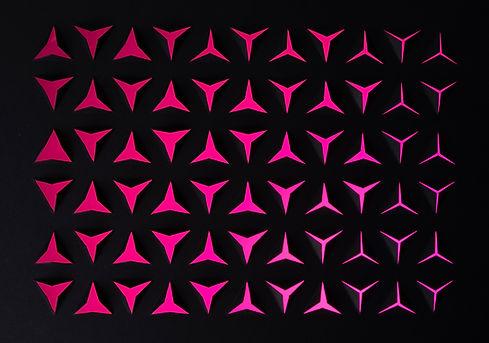 Rosa Grafikformen