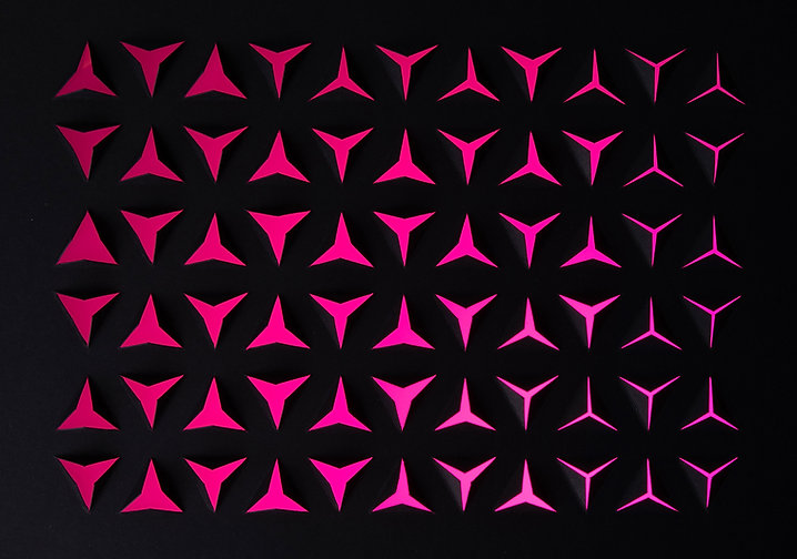 Pink Graphic Shapes
