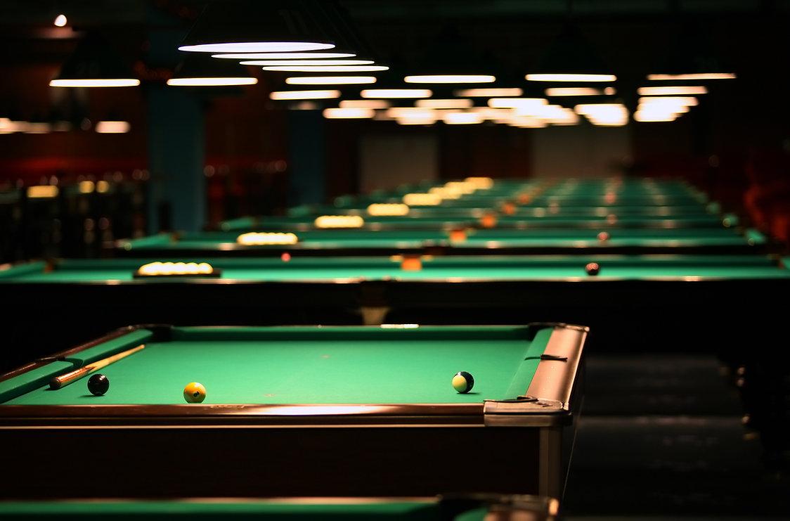 Billiards, Pool Tables