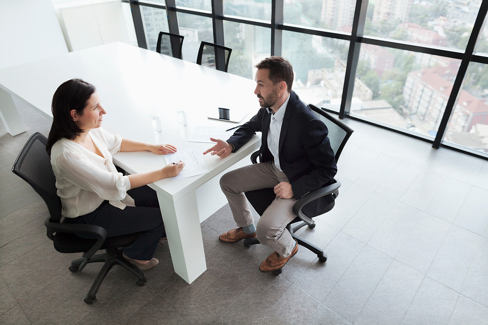 Interview preparation with an interview coach