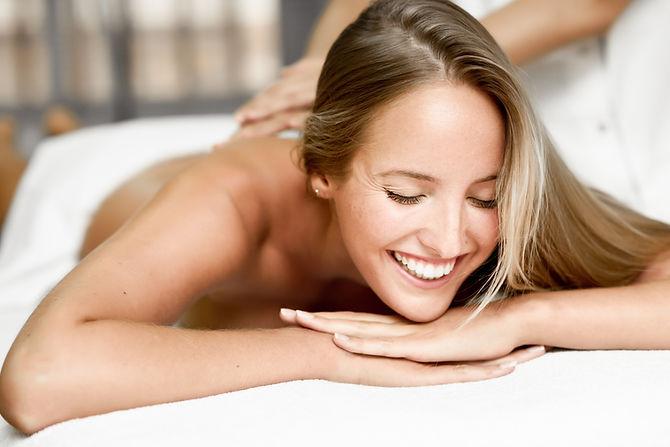 Entspannende Massage