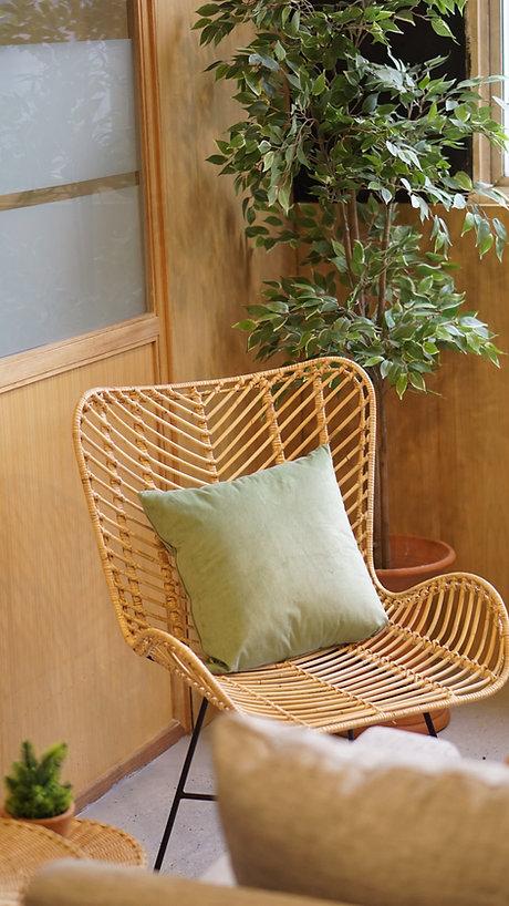 竹製チェア