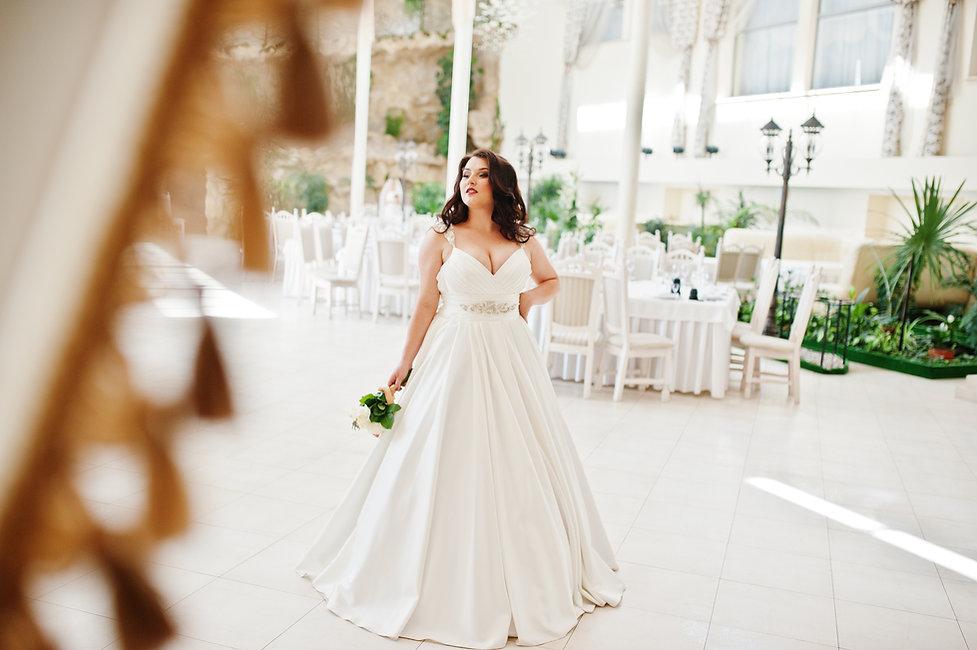 Brautmode große Größen