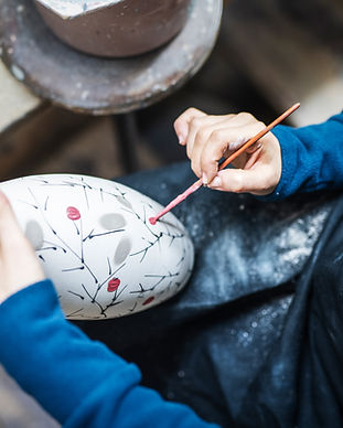 Peinture de vase