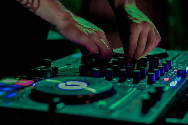 DJ-Kabine in Görlitz