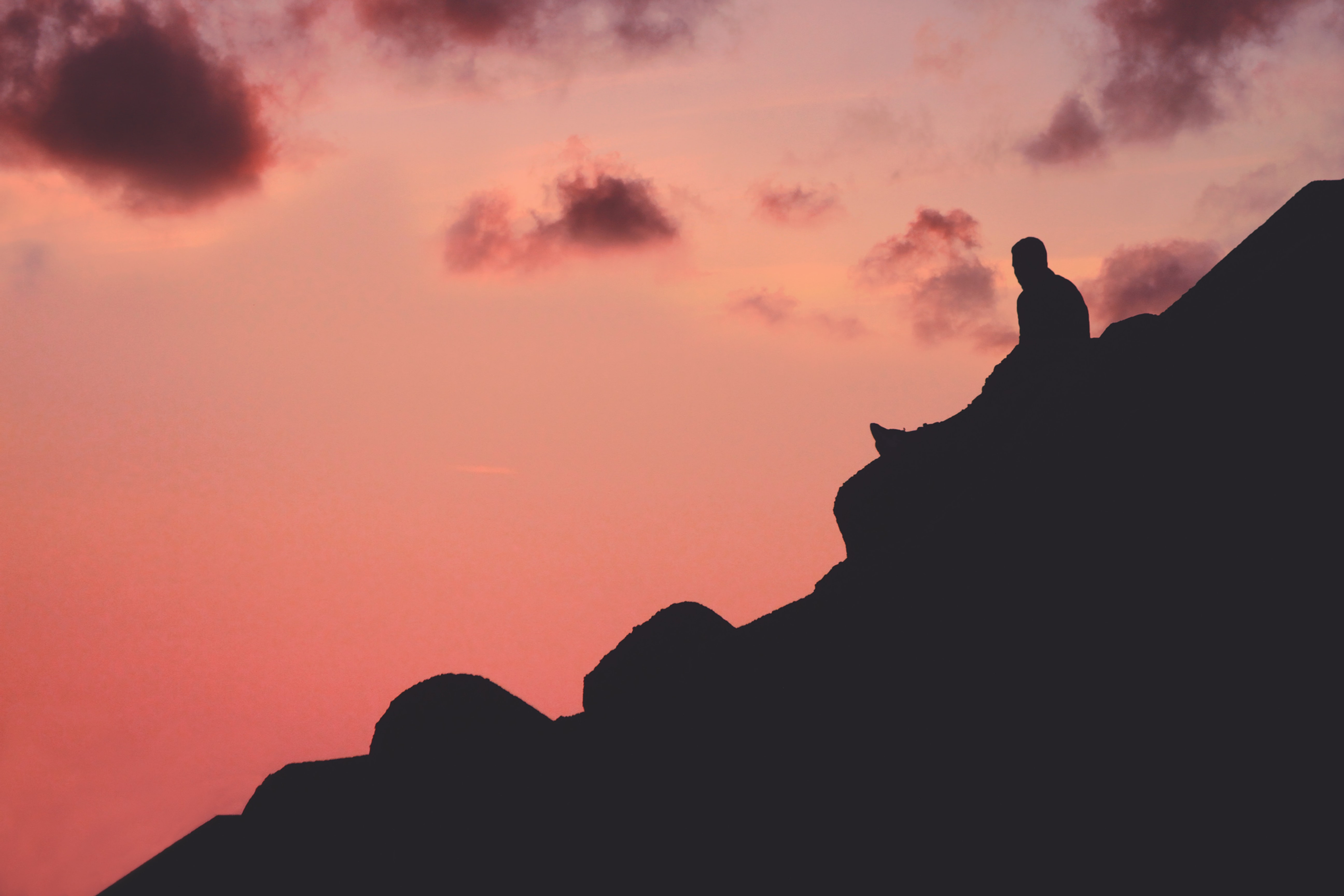 Trekking al tramonto