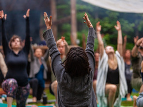 Should your first return to live events be focussed on Health and Wellness?