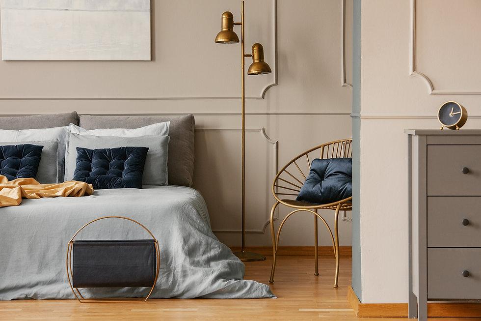Bedroom luxury Interior
