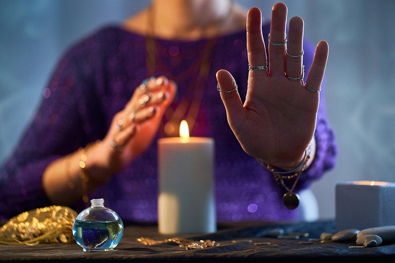 Candle Burning Ritual