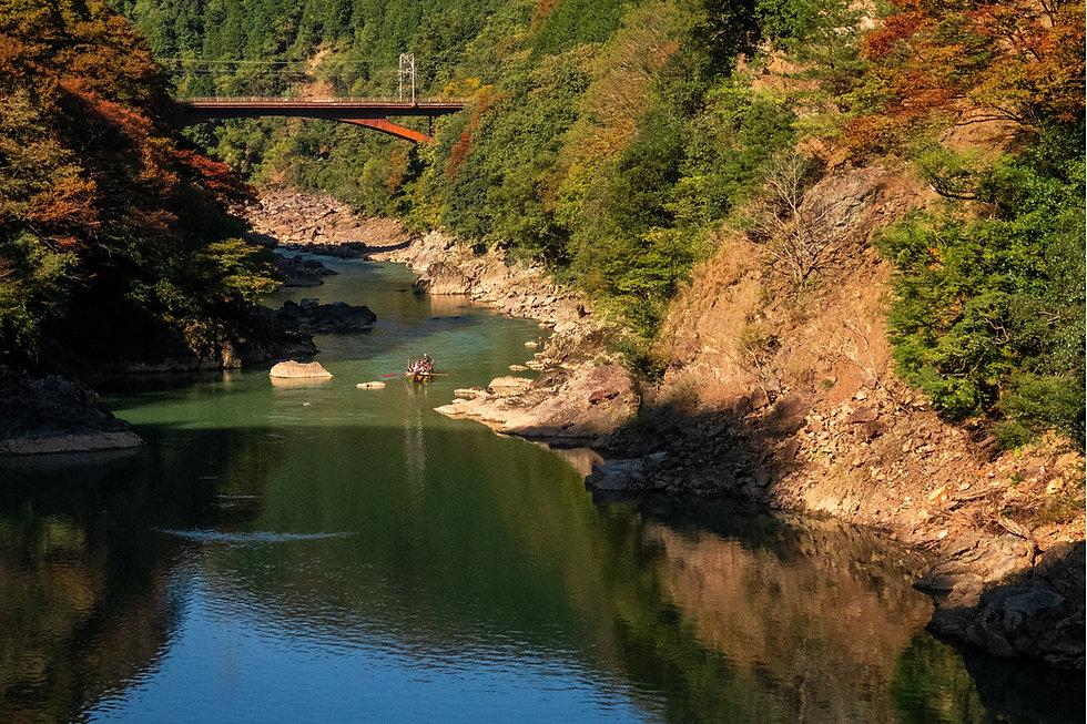 River Raft Rowing